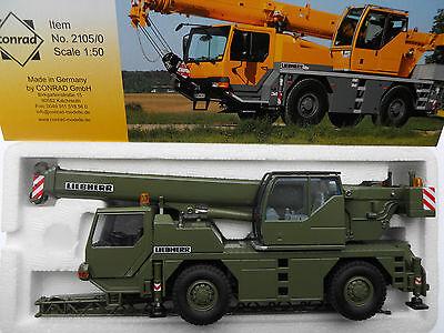 Grue Mobile 2 essieux LIEBHERR LTM1030-2.1 Echelle 1//50 Conrad CON2105//06