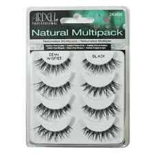 Ardell False Eyelashes MultiPack Demi Wispies Black 4 Pairs Natural Fake Lashes