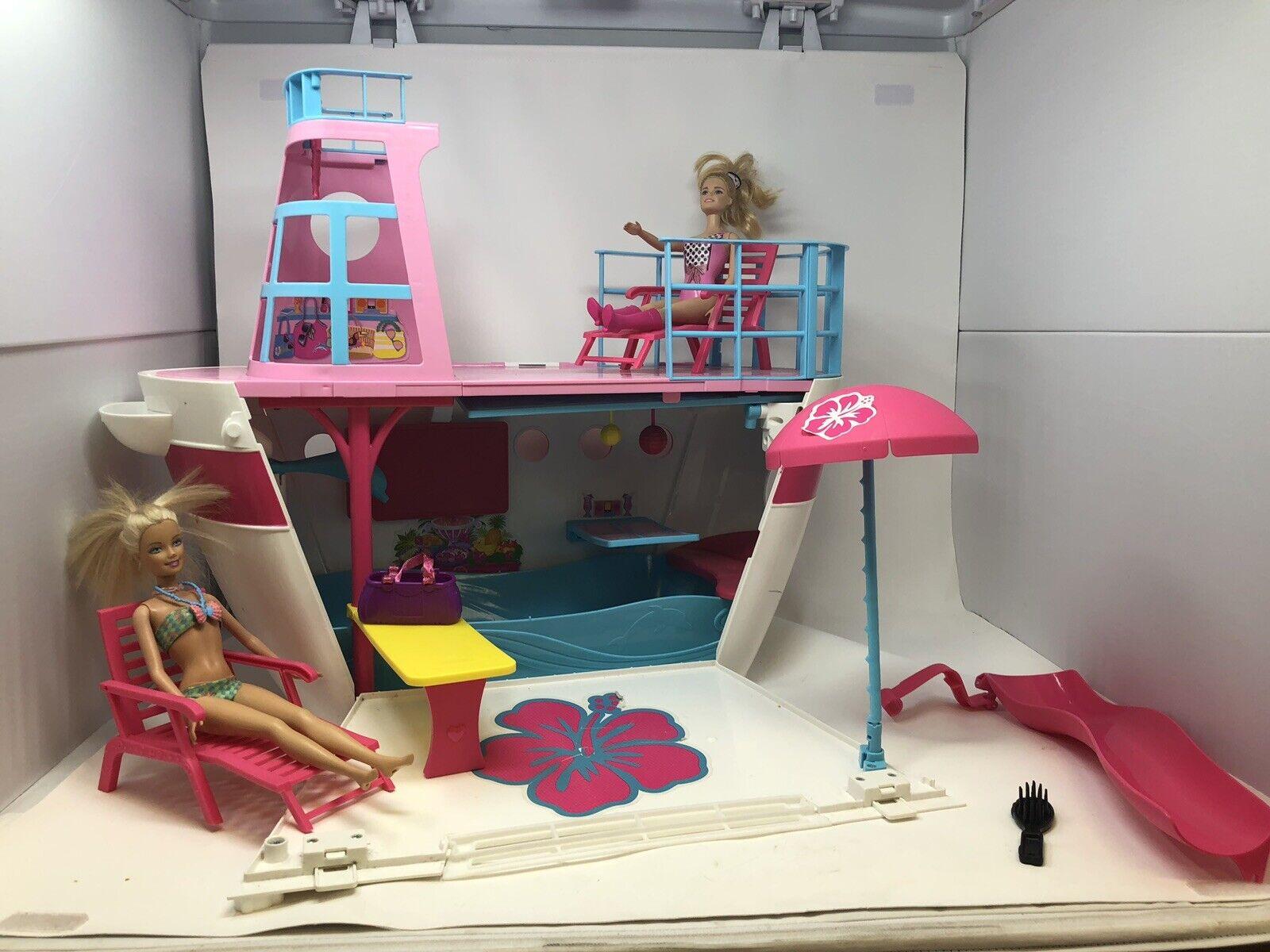 Barbie Hermanas Crucero Lancha Barco x3209-0521