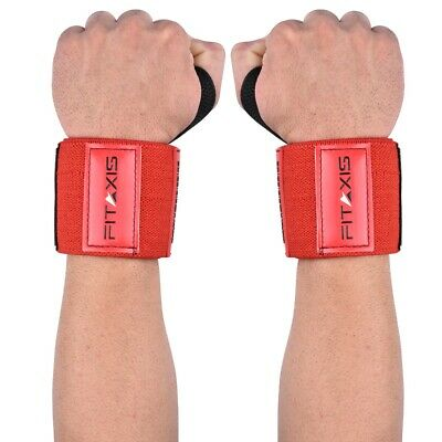 Weight Lifting Wrist Wraps Bandage Hand Support GYM Straps Cotton Grip Brace