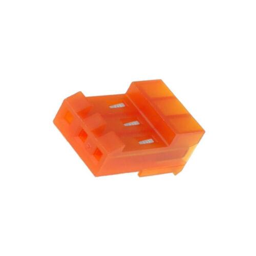 4X 3-640426-3 Stecker Leitung-Platte weiblich MTA-156 3,96mm PIN 3 IDC TE Conne