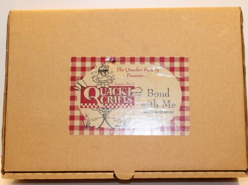 Quacker Factory Jeanne Bice's Quacky Crafts Bond With Me New Kit Complete