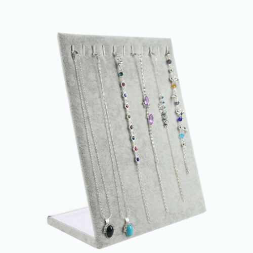 Jewelry Organizer Storage Stand For Necklace Pendant Display Show Holder Rack