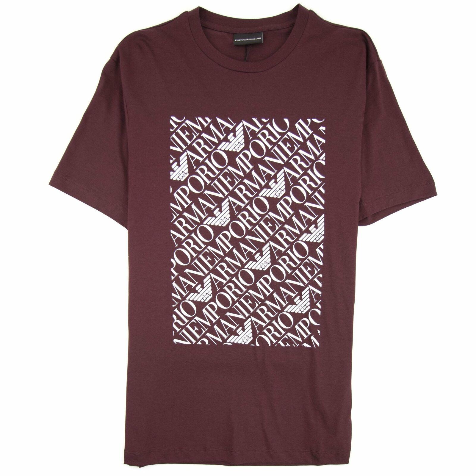 Arhommei Jeans voitureré Logo T-shirt rouge Sangue 0347