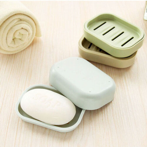 Soap Dispenser Dish Case Holder Container Box for Bathroom Travel Carry CasRKFS