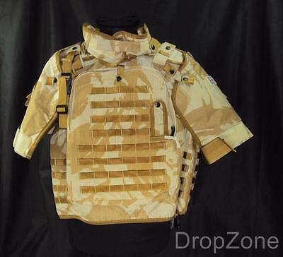 NEW British Military Army Body Armour Cover Osprey DPM Desert Various Sizes