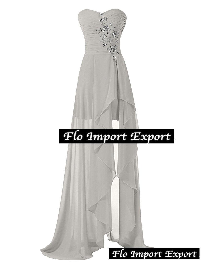 Vestito Lungo Cerimonia Damigella Sposa Bridesmaid Maxi Party Dress NCE002C