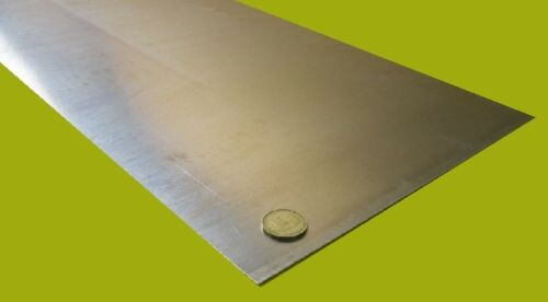 """.032/"""" T3 2024 Aluminum Sheet Thick x 12.0/"""" Width x 24.0/"""" Length 1//32/"""""""