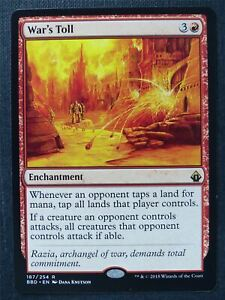 War's Toll - Mtg Magic Card #TA