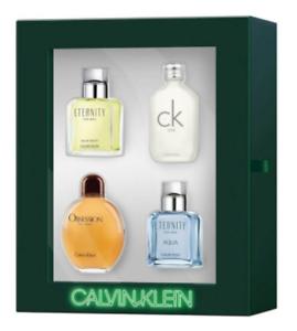 Calvin Klein 4 Piece Mini Variety 0.5 OZ Gift Set  --21 YEARS SELLING ON EBAY--