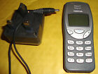 GREY NOKIA 3210 MOBILE PHONE NSE-8 3210 WORKING & MAINS ADAPTOR, NO SIM LOCK