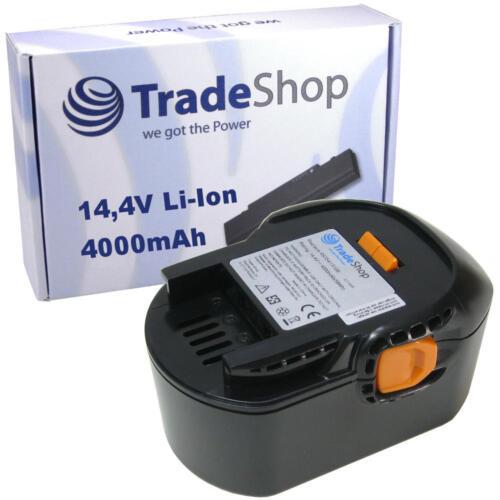 Trade-shop Batterie 14,4v 4000mah Li-Ion pour AEG bbm14 stx-r bs14 x-r bs14g bs14 x