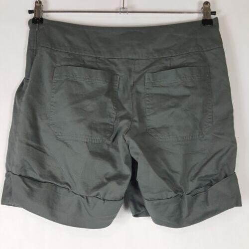 con Size Womens Pantaloncini Mikkelsen plissettato Day Zip Et Side anteriore Birger 30 risvolto Grey w7qx1Ix