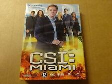3-DISC DVD BOX / CSI: MIAMI - SEIZOEN 3 - AFLEVERINGEN 3.13 - 3.24 ( DEEL 2 )