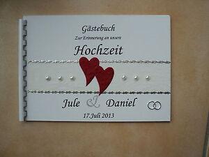 Gaestebuch-Fotoalbum-Hochzeitsbuch-Hochzeit-weiss-rot-silber-Erinnerung-A4