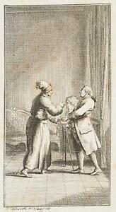 Chodowiecki (1726-1801). Webson visualizza Dott. Marrone la Busto di Madame Arend