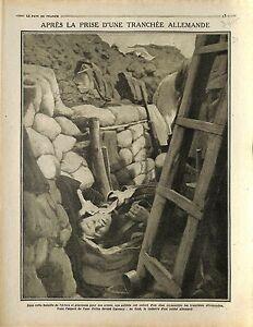 """Soldiers Deutsches Heer Tranchée Carency Bataille de l'Artois / Ruines 1915 WWI - France - Commentaires du vendeur : """"OCCASION"""" - France"""