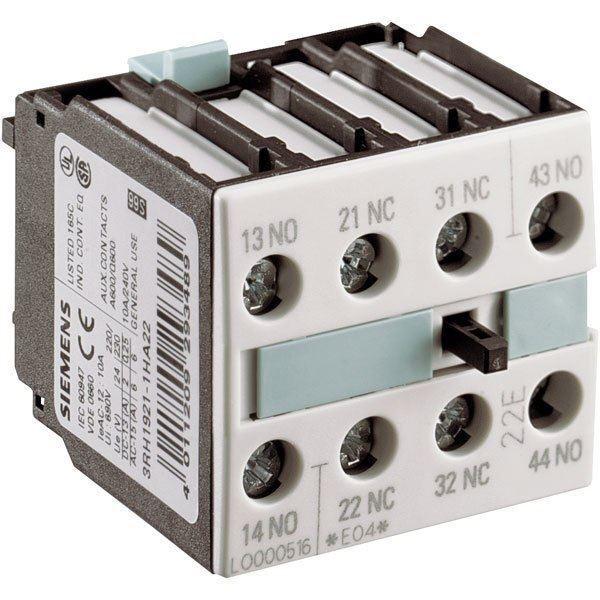 Siemens 3RH1921-1CA01 Auxiliaire Interrupteur Bloc Din Fr 50005 1 Pole