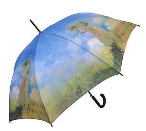 Regenschirm Motiv Claude Monet Frau Mit Sonnenschirm Happy Rain