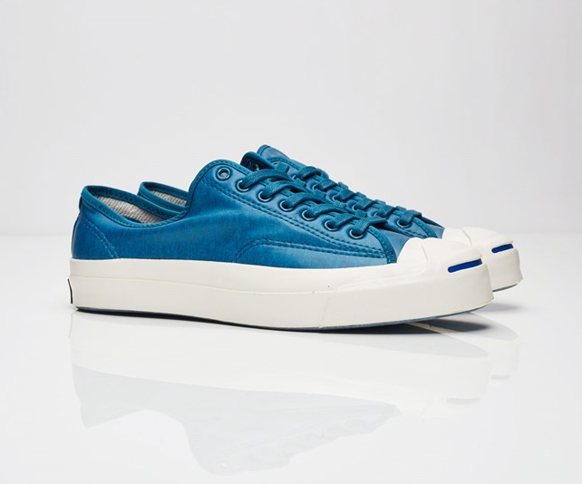 Converse Jack Purcell Signature Coated Blau Terry Low Top Mens Turnschuhe 153102C