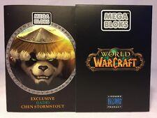 2012 WORLD OF WARCRAFT Mega Blocks Exclusive Blizzard Jade Chen Stormstout