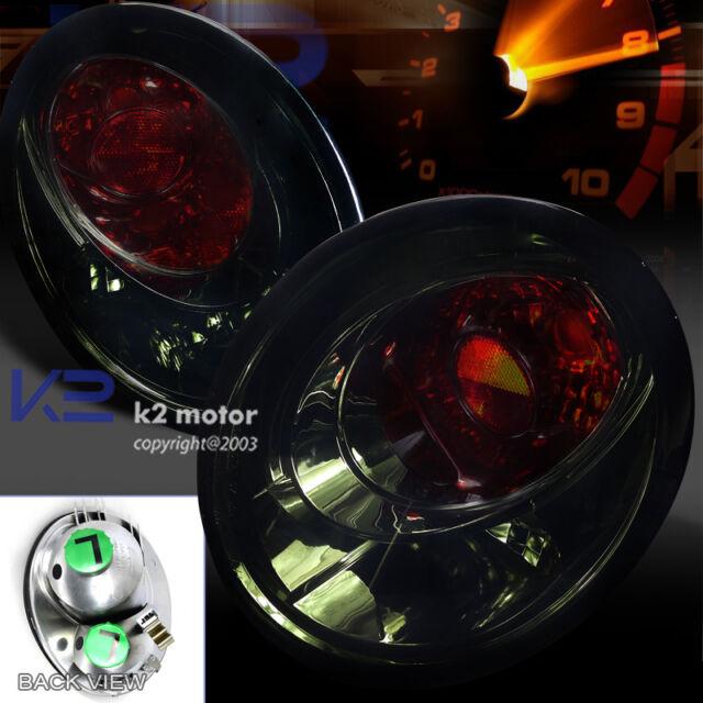 For 98-05 Volkswagen Beetle Smoke Tail Lights Brake Lamps