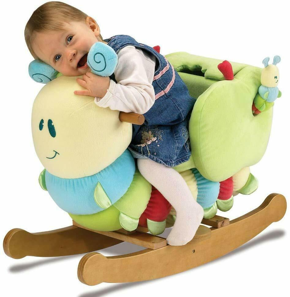 Little Bird Told Me  Curious Catapillar Ride on Rocking Toy  Suitable Age 9m +
