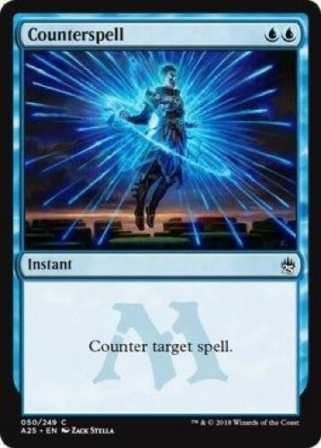 Counterspell - Masters 25 050//249 Common