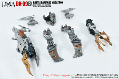 DNA DK-09EX SS13 Upgrade Kit Transformers Megatron War Damaged Ver Hand /& Weapon