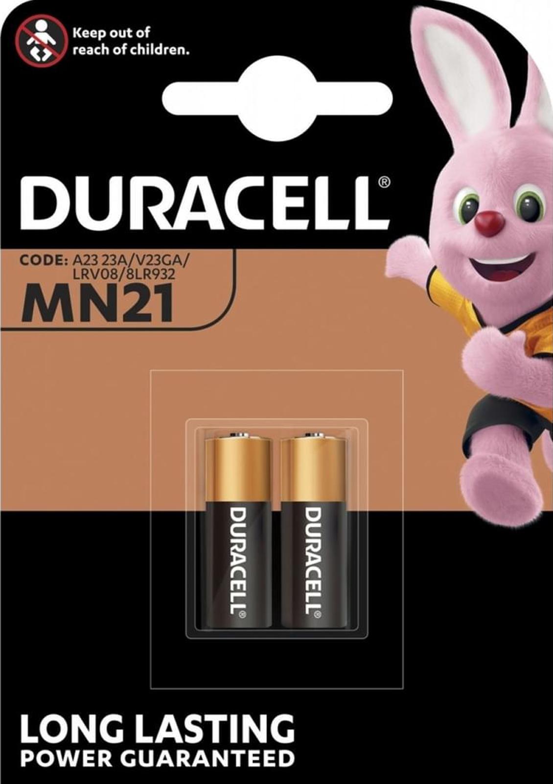 6x Duracell Specialty Alkaline MN21 Batteries 12V 3x 2er Blister MN21
