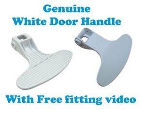 ORIGINALE Beko Lavatrice wmb81445lw wmb81643lw DOOR HANDLE Catch 2821580100