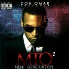 Don Omar Presents MTO²: New Generation [PA] by Don Omar (CD, May-2012, Machete)