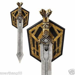 The-Hobbit-An-Unexpected-Journey-Thorin-039-s-Dwarven-Sword-Full-Sz-Replica-by-Noble