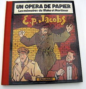 LES-MEMOIRES-DE-BLAKE-ET-MORTIMER-OPERA-DE-PAPIER-GALLIMARD-JACOBS-1981-NEUF