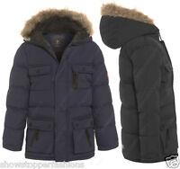 NEW BOYS PARKA JACKET COAT HOODED Boy Padded CLOTHING AGE 7 8 9 10 11 12 School