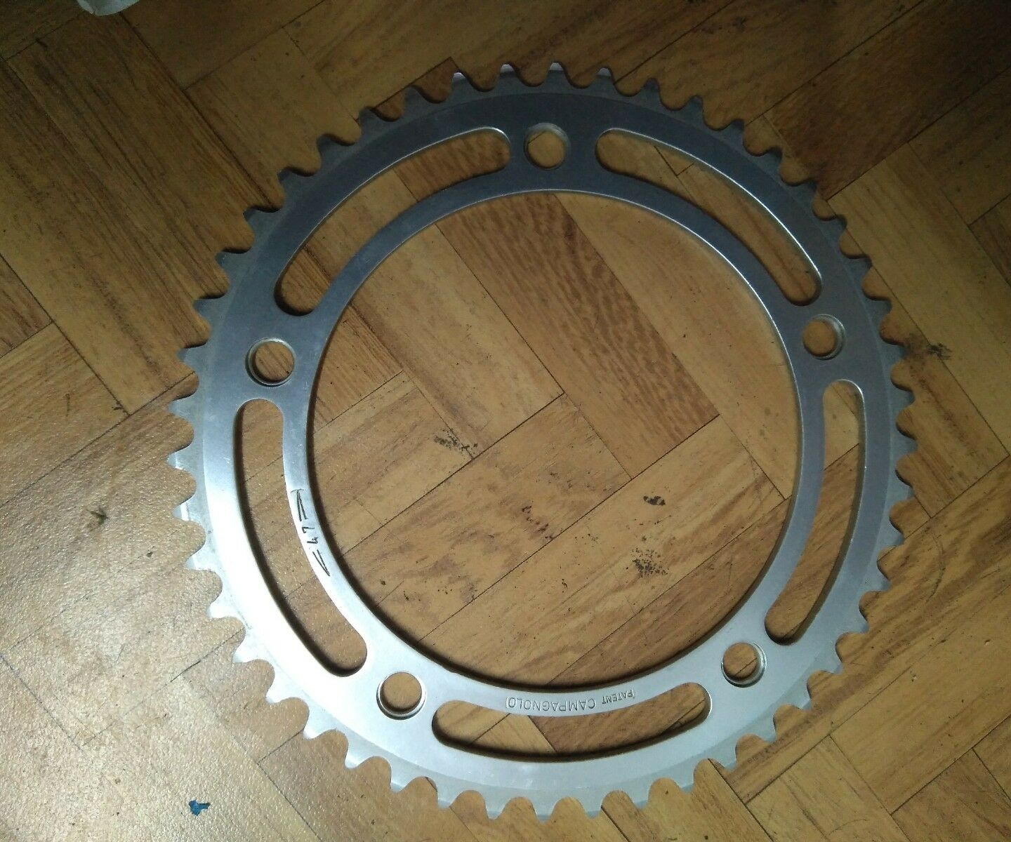 Nos Campagnolo nuovo record chainring 47 t  144 bcd