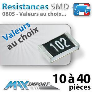 Yellow - Jaune prix dégressifs - Lots multiples LED SMD // CMS 0805 Jaunes