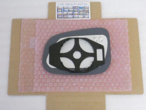 631RCH HEATED Mirror Glass VOLVO S60 S80 V60 JAGUAR XF XJ XK VANDEN Right side R