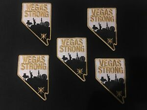 wholesale dealer 02017 3c4d3 Details about 5 Vegas Strong Patches Vegas Golden Knights Jersey Patch