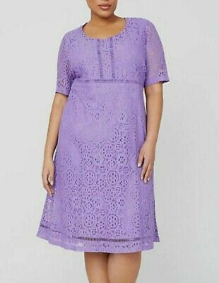 Womens PLUS SIZE 14//16-26//28 Lace Cocktail Evening Party Dress Catherines