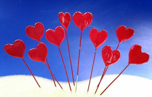 20 Pcs.Red Heart Dollhouse Fairy Garden Accessories Free Ship