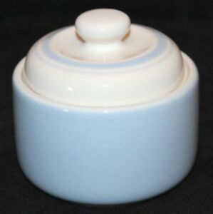 Keltcraft-Misty-Isle-White-Blue-Ireland-Canister-Sugar-Jar-Container-Noritake