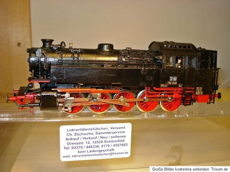 Small Series BR 82 040 DB New Steam Locomotive + Faulhaber Motor to tinker, RARE