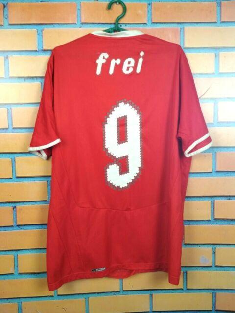 Frei Switzerland Jersey 2008 2010 Home LARGE Shirt Puma Football Soccer Trikot