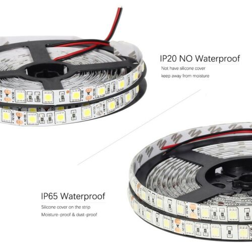 12V LED SMD 5050 Streifen Stripe Warmweiss Kaltweiss Leiste Band dimmbar 30W 5M