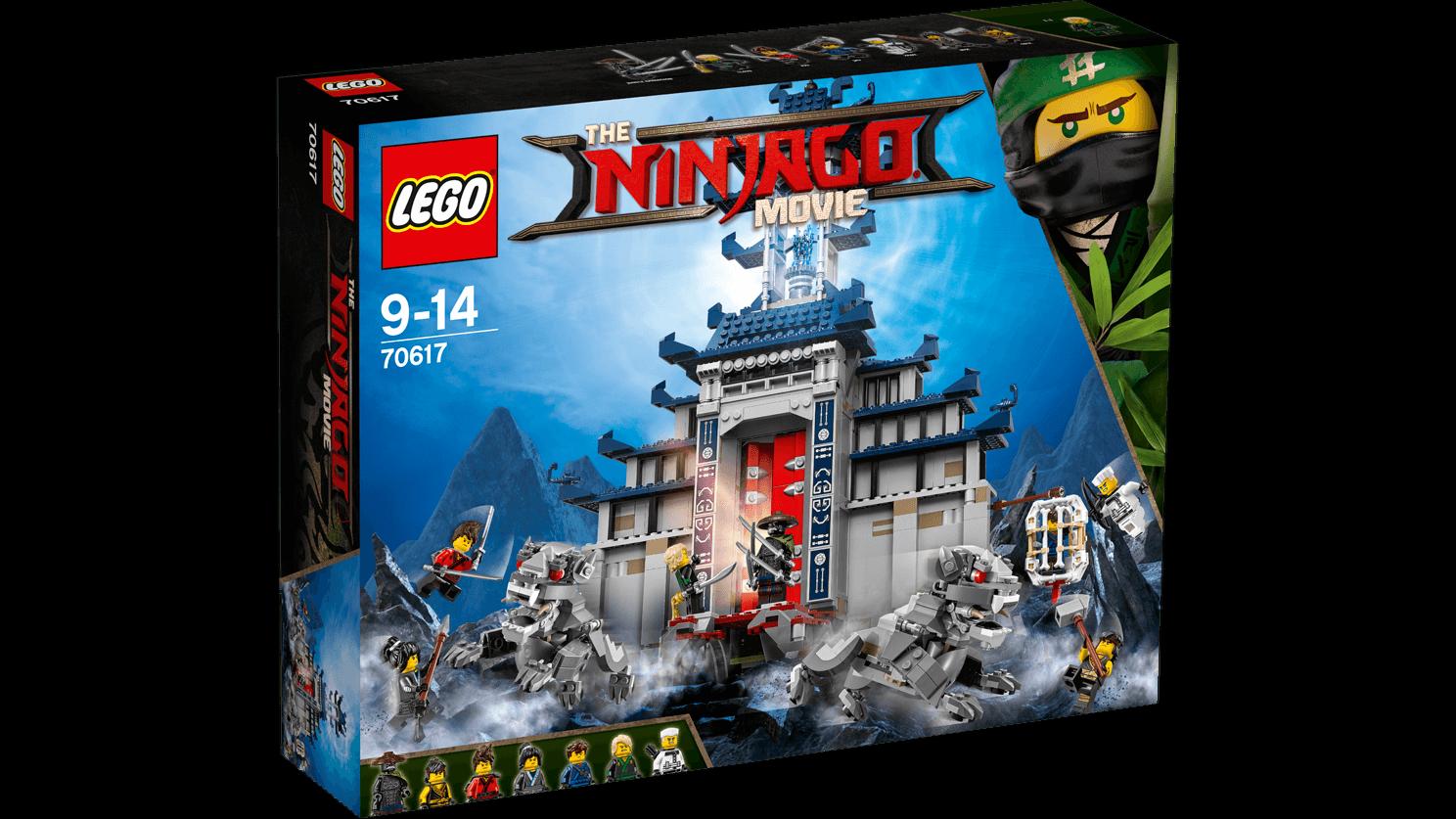 1403 Delle Armi Movie 9 70617 Finali Pz Tempio Ninjago 14anni Lego 3Aqjc4L5R