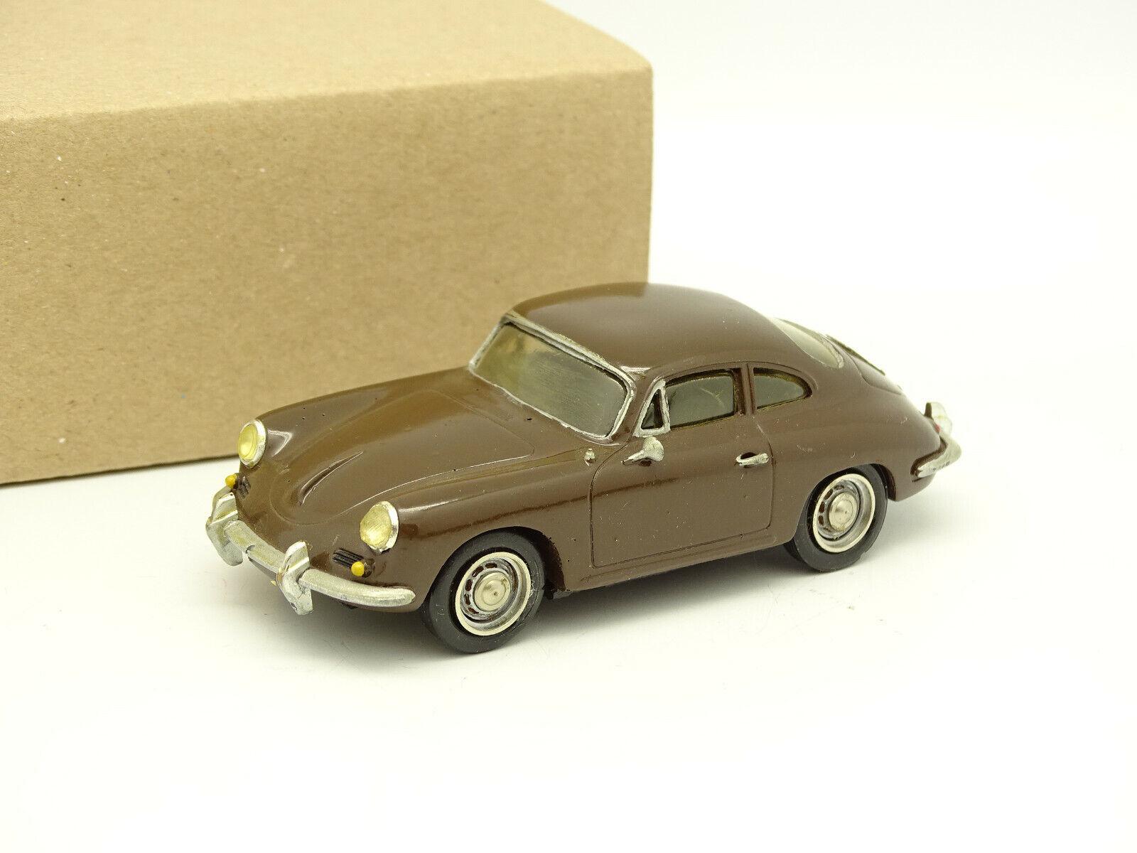 Record Kit Monté Résine 1 43 - Porsche 356 B marrón