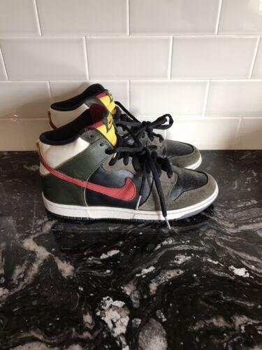 "2008 Nike Dunk High Premium SB ""Boba Fett"" Size 9"