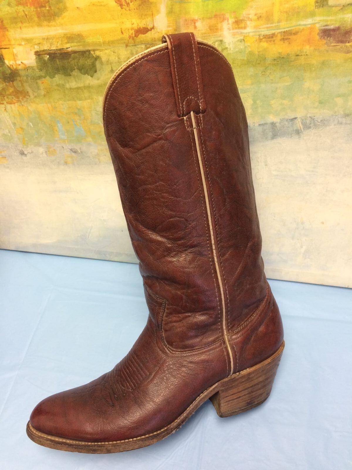 Double h 2154 Borgoña para Hombre botas De Vaquero 9 D