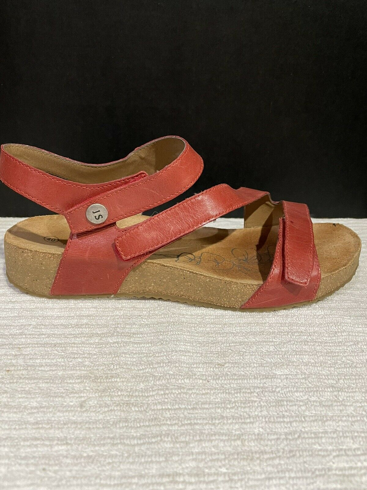 Josef Seibel Tonga  Womens Strappy Sandals In Red - image 3